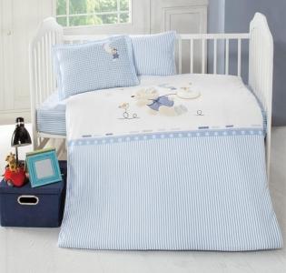 Детский постельный комплект с вышивкой ТМ Luoca Patisca Bonnie