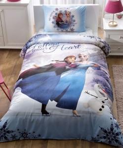 Подростковый постельный комплект ТМ TAС Frozen My Hero
