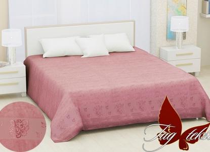 Простынь махровая ТМ Hanibaba бамбук Sarmasik pink 200х220