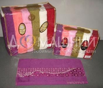 Набор полотенец из хлопка ТМ Philippus Cotton Salsa