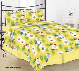 Детский постельный комплект ТМ Nostra бязь Gold 10-0291 Original Yellow