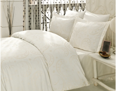 Постельное бельё ТМ Mariposa сатин люкс elitte pearl евро-размер
