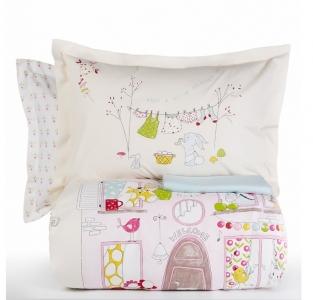 Подростковое постельное бельё ТМ Karaca Home Fanya Pink