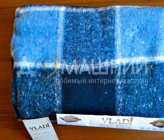 Плед ТМ Vladi Palermo синий