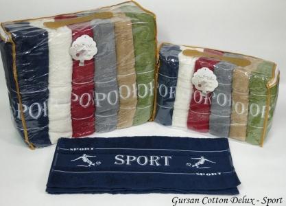 Набор полотенец из 6 штук ТМ Gursan Cotton Sport