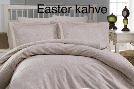 Постельное белье ТМ Altinbasak сатин-люкс Easter Beige евро-размер