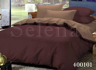 Постельное белье ТМ Selena поплин Шоколад