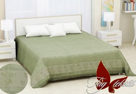 Простынь махровая ТМ Hanibaba бамбук Sarmasik green 200х220