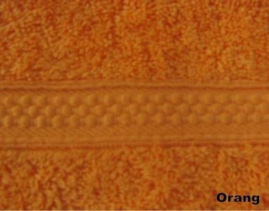 Полотенце махровое ТМ Arya Miranda оранжевое 30Х50