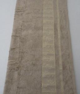 Полотенце ТМ Arya бамбук Simon светло-коричневое 70Х140