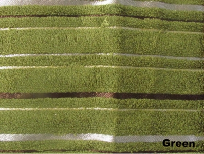 Полотенце ТМ Arya бамбук-жаккард Floslu зелёное 90X150