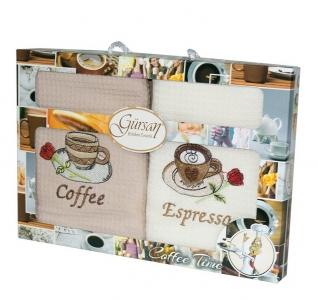 Набор полотенец кухонных 2 шт ТМ Gursan coffee 2 40х60