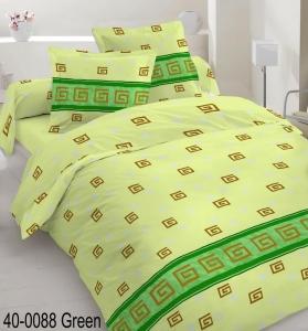 Постельное белье ТМ Nostra бязь Gold 40-0088 Green