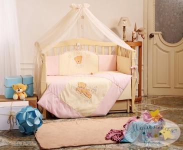 Детский набор из 7 предметов ТМ Маленькая Соня Tiny Love розовый