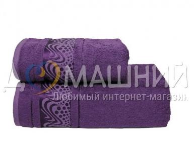 Полотенце ТМ Mariposa Bamboo Aqua фиолетовый