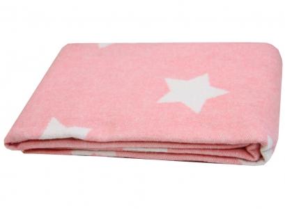 Плед-одеяло ТМ Vladi Звезды розовое 100х140