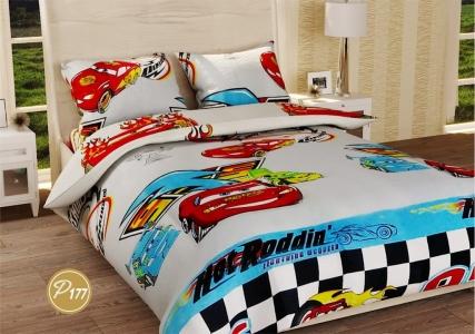 Подростковое постельное белье ТМ Лелека Текстиль ранфорс R177