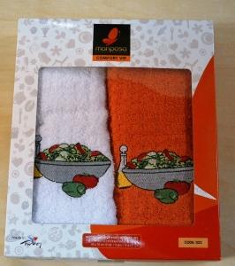 Набор полотенец кухонных ТМ Mariposa 2шт 023 салат