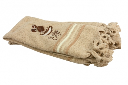 Набор полотенец кухонных 2 шт ТМ Fiesta Coffee коричневый 40х60