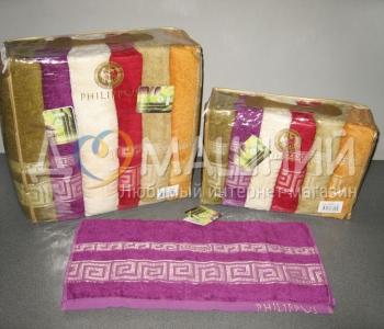 Набор полотенец из хлопка ТМ Philippus Bamboo Grek