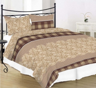 Постельное белье ТМ Nostra бязь Gold 40-0792 Brown Beige