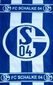 Полотенце велюровое пляжное Турция FC Schalke 04 75х150