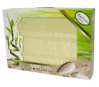 Простынь бамбуковая ТМ Gursan olive 200х220