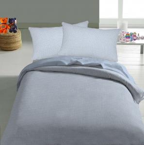 Постельное белье ТМ Nostra ранфорс 30-0200 Light Blue