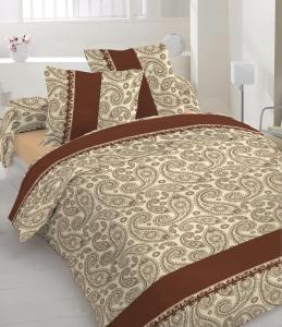 Постельное белье ТМ Nostra сатин 40-0377 Brown