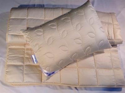 Подушка со стёганым чехлом ТМ Billerbeck Корона 50х70