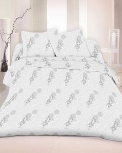 Постельное белье ТМ Nostra сатин 50-0012 White On White
