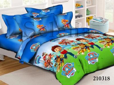Подростковое постельное белье ТМ Selena ранфорс (210318) Щенячий Патруль 4
