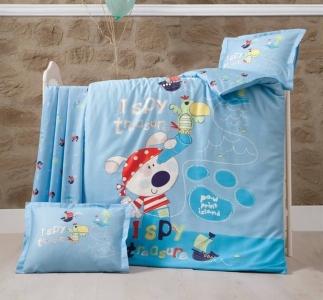 Детский постельный комплект ТМ Luoca Patisca Island