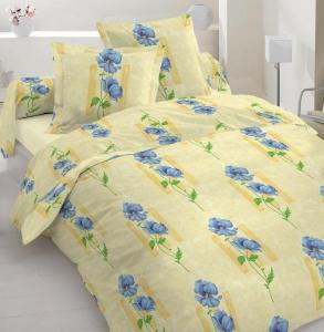 Постельное белье ТМ Nostra бязь-люкс 20-0447 Yellow