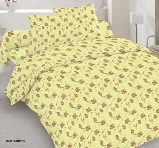 Детский постельный комплект ТМ Nostra бязь Gold 10-0117 Green