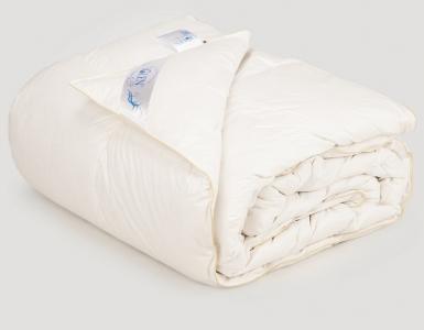 Одеяло облегченное ТМ Iglen Climate-comfort пух серый