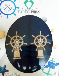 Набор полотенец ТМ Two Dolphins Land sea 2шт navy