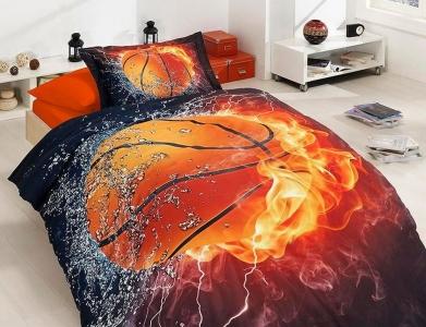Подростковый постельный комплект ТМ First Choice сатин Basketball