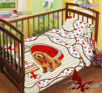 Детский постельный комплект ТМ TAG Дружок