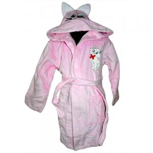 Халат детский розовый ТМ Nusa Котик 5-6 лет