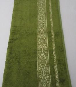 Полотенце ТМ Arya бамбук Kayra зеленое 70х140