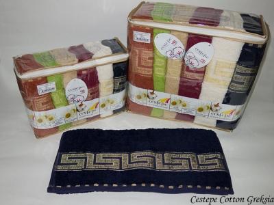 Набор полотенец из 6 штук Cestepe VIP Cotton Greksia