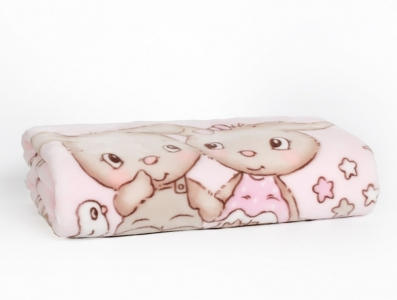 Плед-покрывало ТМ Karaca Home Bunny Friends детский 100х120