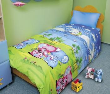 Подростковое постельное бельё ТМ ТЕП Слоники