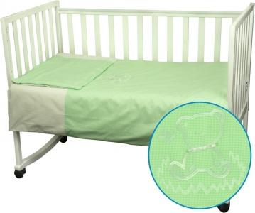 Детский постельный комплект ТМ Руно Медвежонок салатовый
