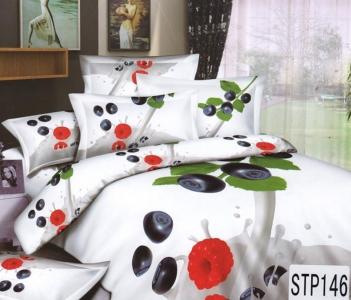 Постельное бельё ТМ Love You Коктейль STP146 евро-размер