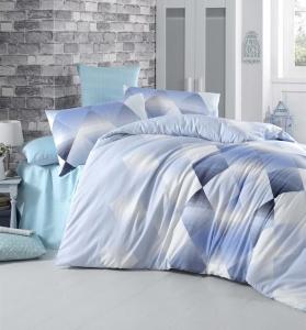 Постельное белье ТМ LightHouse бязь Petek голубой