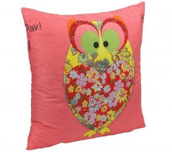Подушка ТМ Руно декоративная Owl Red