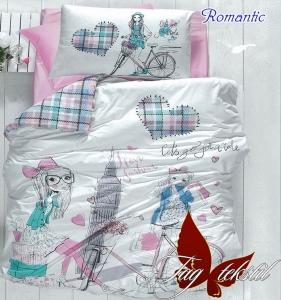 Подростковый постельный комплект ТМ TAG ранфорс Romantic