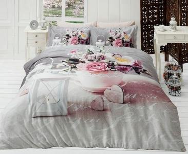 Подростковый постельный комплект ТМ First Choice сатин Andrea
